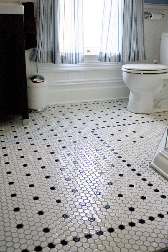 Classic mosaic floor tiles are making a comeback!